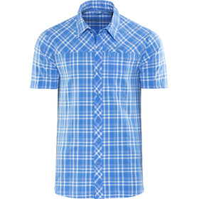 Bergans Langli Chemise manches courtes Homme, light winter sky check